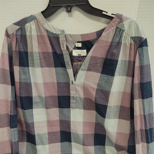 Primary Photo - BRAND: ANN TAYLOR LOFT STYLE: TOP LONG SLEEVE COLOR: PLAID SIZE: M SKU: 133-13341-43996