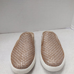 Primary Photo - BRAND: JOHNSTON & MURPHY STYLE: SHOES FLATS COLOR: BEIGE SIZE: 6.5 OTHER INFO: WOVEN LEATHER SLIDE SKU: 133-13350-41747