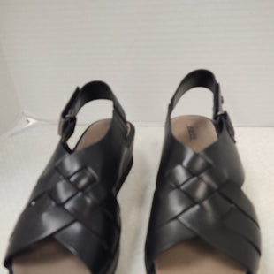 Primary Photo - BRAND: EARTH STYLE: SANDALS LOW COLOR: BLACK SIZE: 8.5 OTHER INFO: NEW! WEDGE PLATFORM SKU: 133-13373-13859