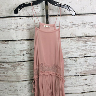 Primary Photo - BRAND: FREE PEOPLE STYLE: TUNIC SHORT SLEEVE COLOR: PINK SIZE: M OTHER INFO: SLEEVELESS SKU: 133-13355-35362