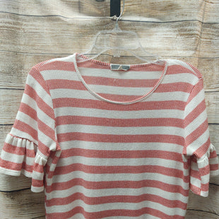 Primary Photo - BRAND: PLEIONE STYLE: TOP SHORT SLEEVE COLOR: STRIPED SIZE: S SKU: 133-13341-43511