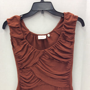 Primary Photo - BRAND: DELETTA STYLE: TOP SLEEVELESS COLOR: RUST SIZE: XS SKU: 133-13344-37211