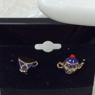 Primary Photo - BRAND: KATE SPADE STYLE: EARRINGS SKU: 133-13316-112519TRAP POT AND CUP ENAMEL STUD EARRINGS