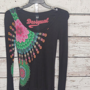 Primary Photo - BRAND: DESIGUAL STYLE: TOP LONG SLEEVE BASIC COLOR: BLACK SIZE: M SKU: 133-13341-45346LONG LIKE A TUNIC