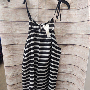 Primary Photo - BRAND: KATE SPADE STYLE: COVERUP COLOR: BLACK WHITE SIZE: M OTHER INFO: STRIPED SKU: 133-13350-40799