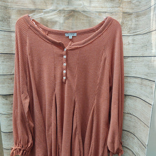 Primary Photo - BRAND: WHITE BIRCH STYLE: TUNIC LONG SLEEVE COLOR: PEACH SIZE: M SKU: 133-13371-12971