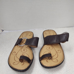 Primary Photo - BRAND: BORN STYLE: SANDALS FLAT COLOR: BROWN SIZE: 7 SKU: 133-13341-45481