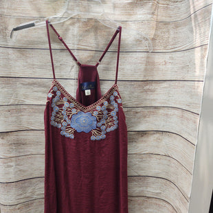 Primary Photo - BRAND: BLUE RAIN STYLE: DRESS SHORT SLEEVELESS COLOR: MAROON SIZE: L SKU: 133-13374-3374
