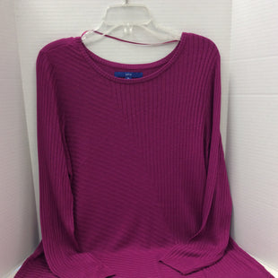 Primary Photo - BRAND: APT 9 STYLE: SWEATER LIGHTWEIGHT COLOR: FUSCHIA SIZE: XL SKU: 133-13371-13541