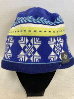 Primary Photo - BRAND: COLUMBIA <BR>STYLE: HAT <BR>COLOR: BLUE <BR>SKU: 133-13316-109120<BR>OMNI HEAT AND FLEECE LINED