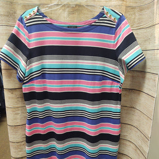 Primary Photo - BRAND: TALBOTS O STYLE: DRESS SHORT SHORT SLEEVE COLOR: STRIPED SIZE: XL SKU: 133-13316-114314