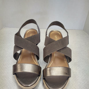 Primary Photo - BRAND: VIONIC STYLE: SANDALS HIGH COLOR: PEWTER SIZE: 9 SKU: 133-13316-1062212 1/2 INCH WEDGENEW NO TAGS