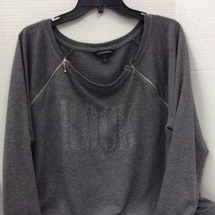Primary Photo - BRAND: ROCK AND REPUBLIC STYLE: TOP LONG SLEEVE COLOR: GREY SIZE: 2X SKU: 133-13316-112279