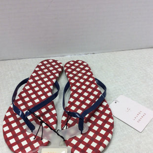 Primary Photo - BRAND: LAUREN CONRAD STYLE: FLIP FLOPS COLOR: RED BLUE SIZE: 6 SKU: 133-13373-13832