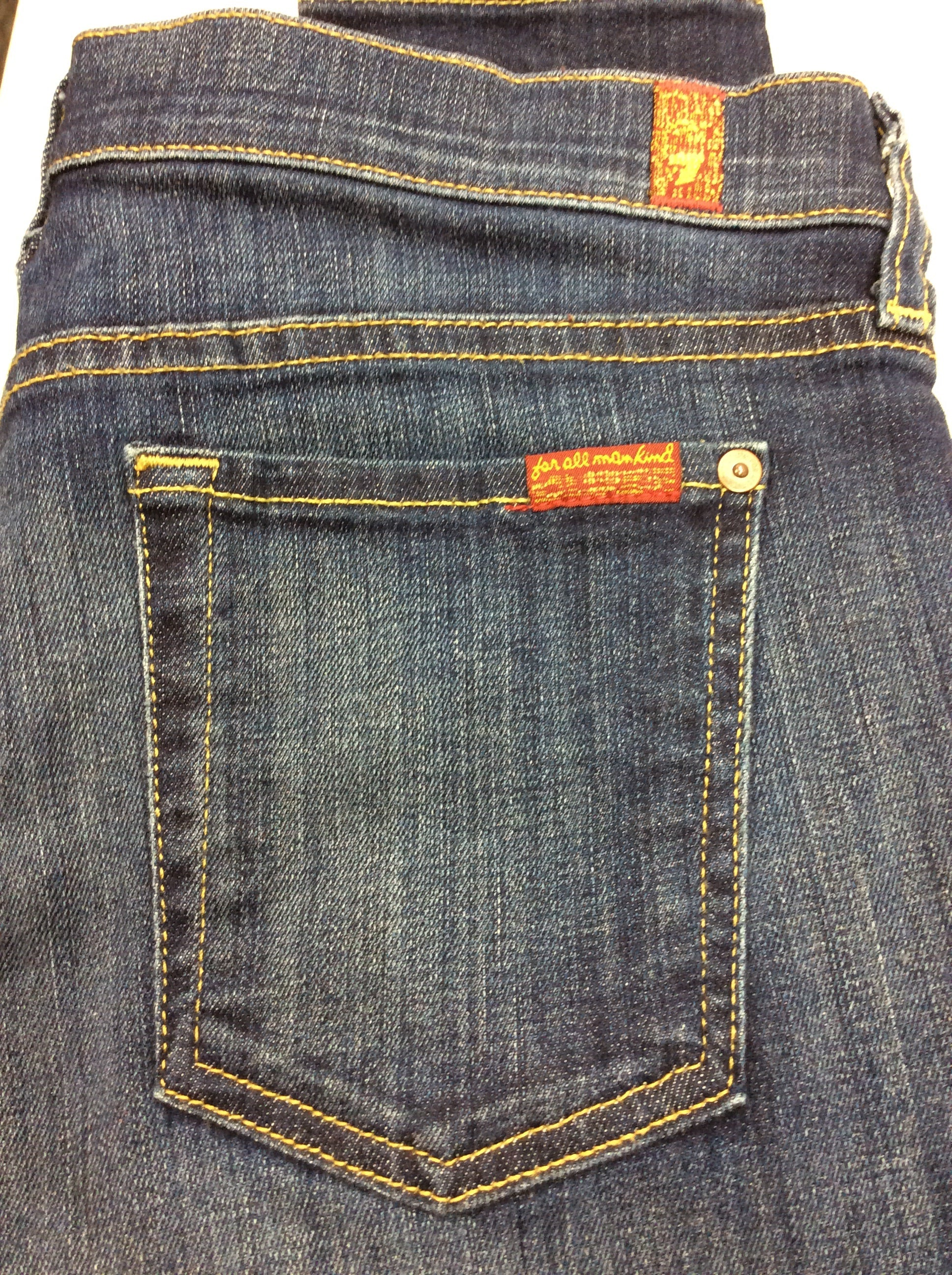 Photo #3 - BRAND: SEVEN FOR ALL MANKIND <BR>STYLE: JEANS DESIGNER <BR>COLOR: DENIM <BR>SIZE: 6 <BR>SKU: 133-13341-42734