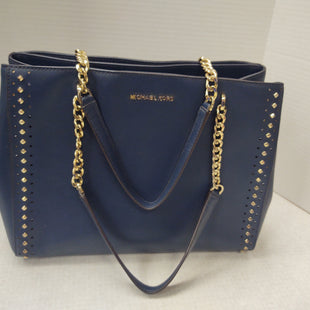 Primary Photo - BRAND: MICHAEL KORS STYLE: HANDBAG DESIGNER COLOR: NAVY SIZE: LARGE OTHER INFO: AS IS SKU: 133-13374-1206