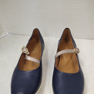 Primary Photo - BRAND: CLARKS STYLE: SHOES FLATS COLOR: NAVY SIZE: 8 OTHER INFO: NEW! MARY JANE SKU: 133-13373-13873