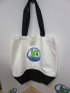 Cup-A-Saurus™® Canvas tote bag