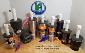Cup-A-Saurus™® FOAM-TASTIC 6x4 cup turning foam - 9 Pack Foam Only