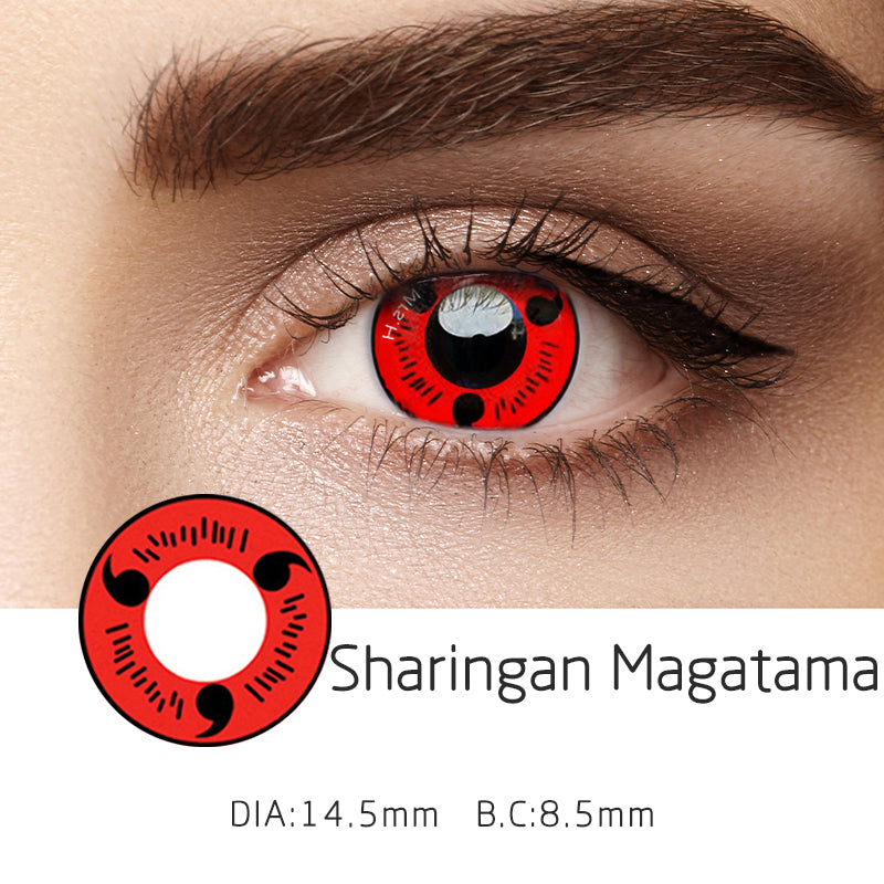Mrs. H Colored Contact Lenses Cosplay Magatama 14.5mm 1 Pair