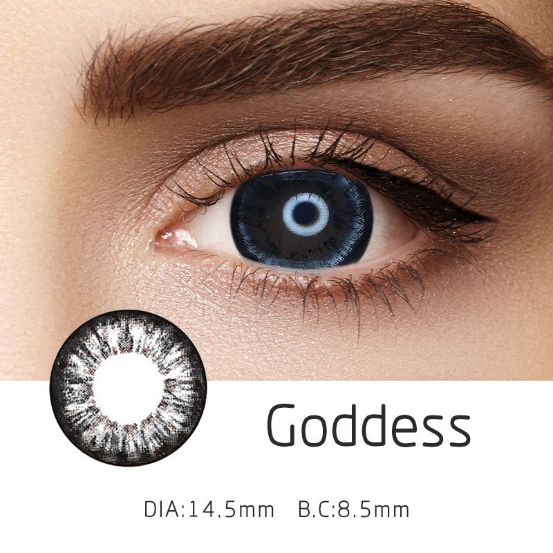 Mrs. H Colored Contact Lenses Goddess 14.50mm 1 Pair