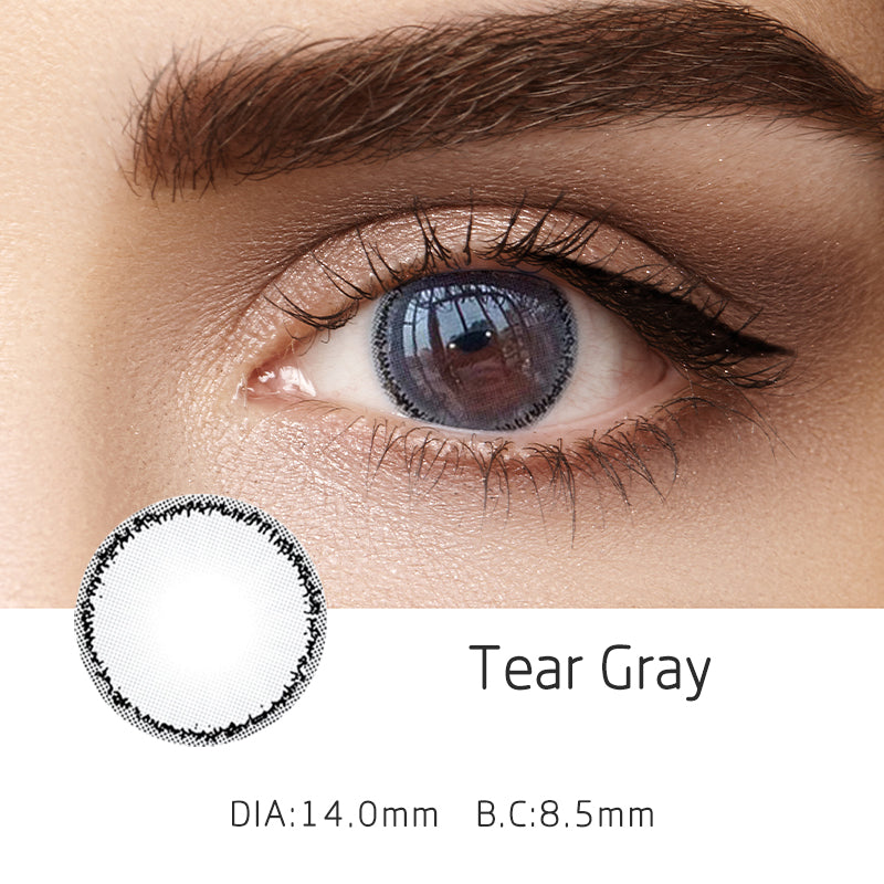 Mrs. H Colored Contact Lenses Tear 14mm 1 Pair