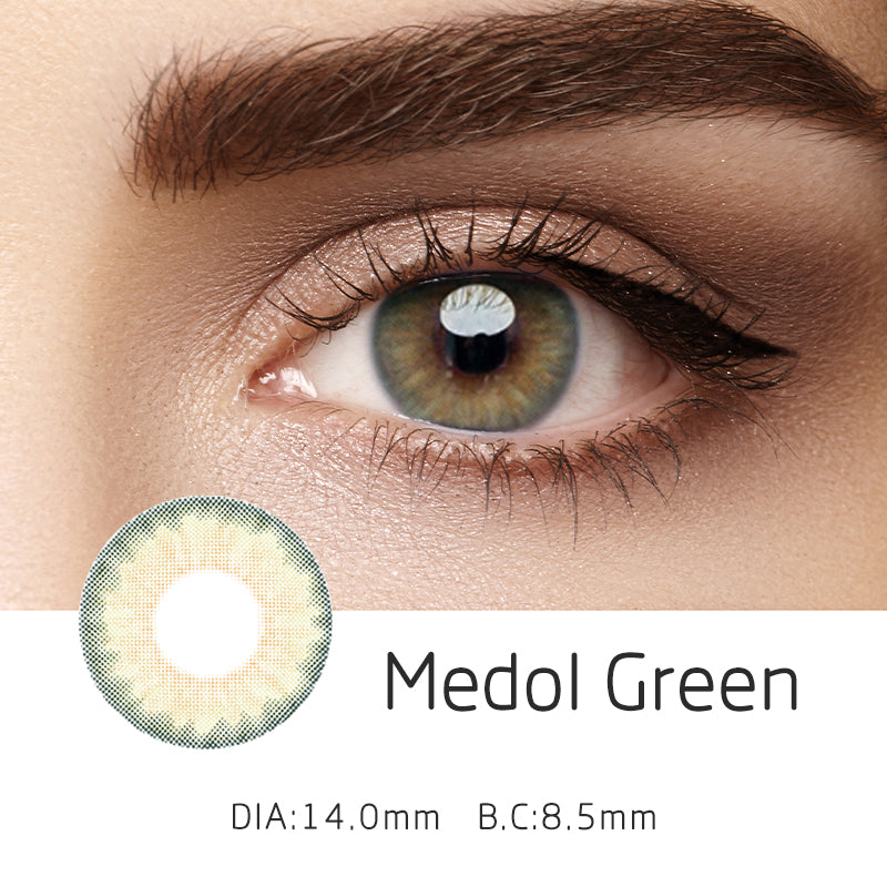 Mrs. H Colored Contact Lenses Medol 14mm 1 Pair