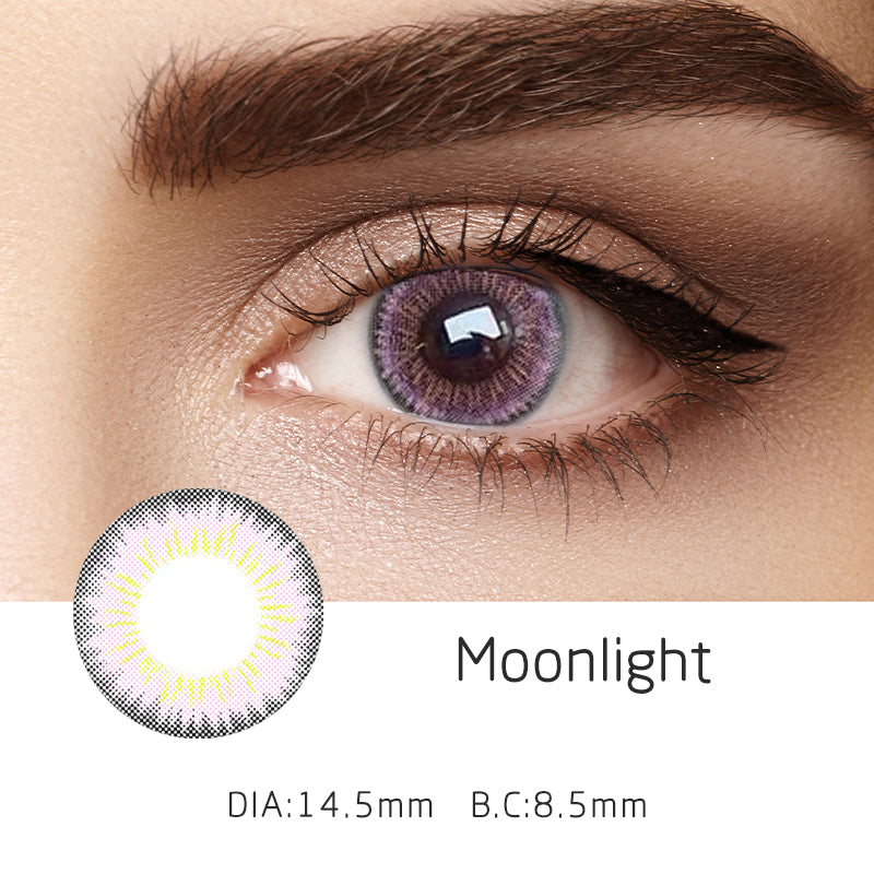 Mrs. H Colored Contact Lenses Moonlight 14.50mm 1 Pair