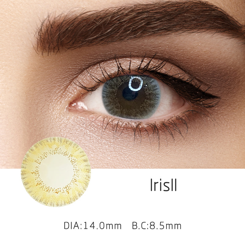 Mrs. H Colored Contact Lenses IrisII 14.00mm 1 Pair