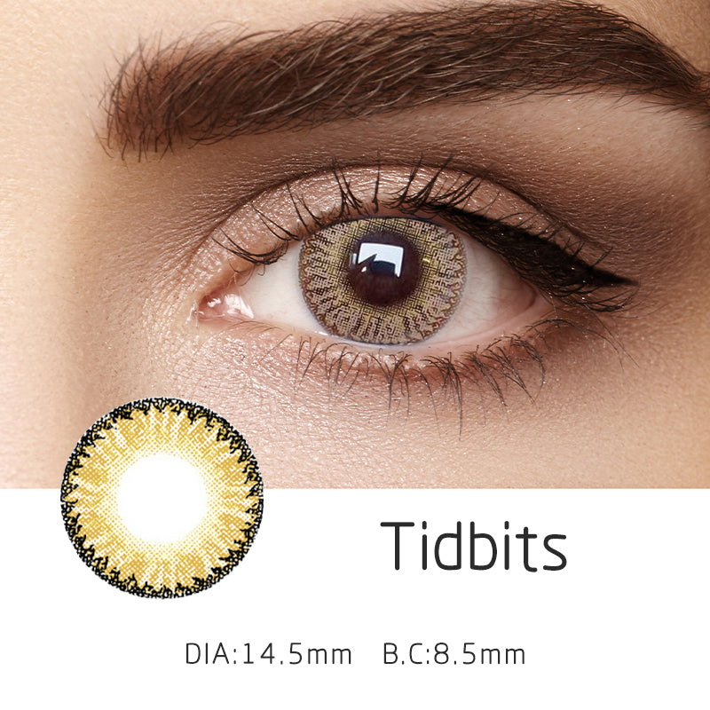 Mrs. H Colored Contact Lenses Dodo 14.50mm 1 Pair