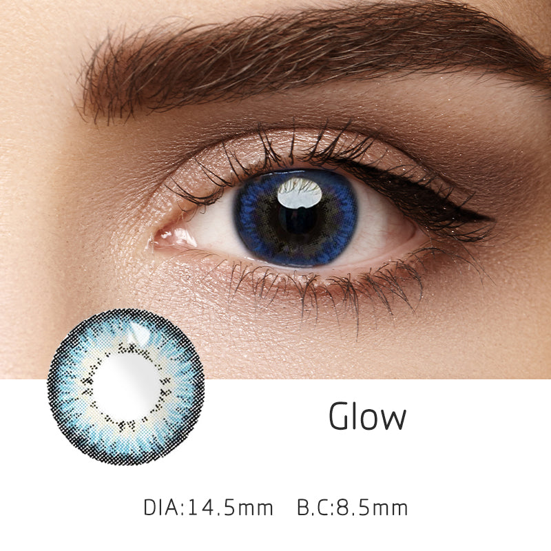 Mrs. H Colored Contact Lenses Glow 14.5mm 1 Pair
