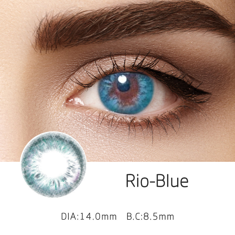 Mrs. H Colored Contact Lenses Rio 14.00mm 1 Pair