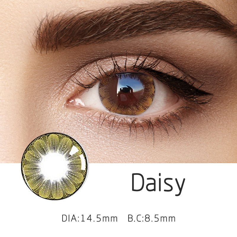 Mrs. H Colored Contact Lenses Daisy 14.50mm 1 Pair