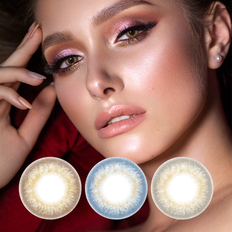Mrs. H Colored Contact Lenses Mermaid Tears 14.5mm 1 Pair