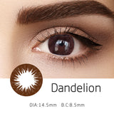 Mrs. H Colored Contact Lenses Dandelion 14.50mm 1 Pair