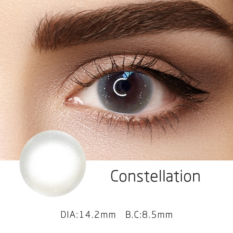 Mrs. H Colored Contact Lenses Constellation 14.20mm 1 Pair
