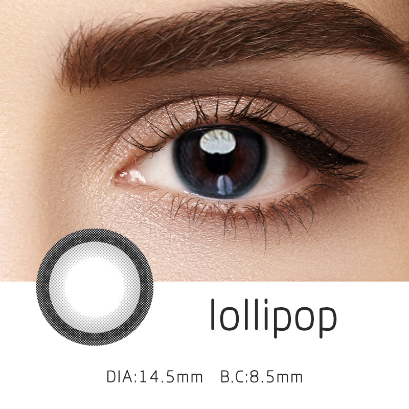 Mrs. H Colored Contact Lenses lollipop 14.50mm 1 Pair