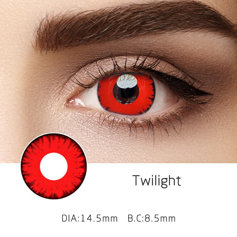 Mrs. H Colored Contact Lenses Twilight 14.5mm 1 Pair