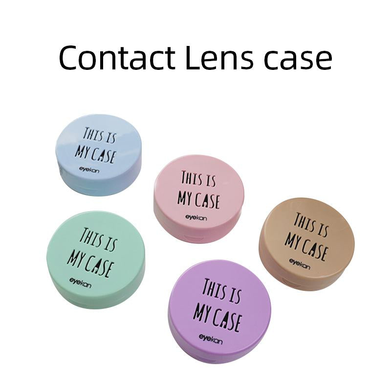 Mrs. H Colored Contact Lenses Macaroon Lens Case mm