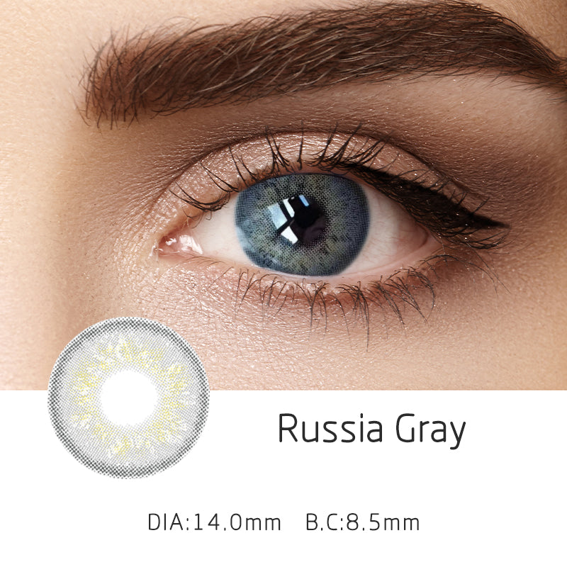 Mrs. H Colored Contact Lenses Russia 14mm 1 Pair