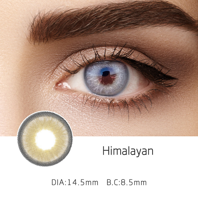 Mrs. H Colored Contact Lenses Himalayan 14.00mm 1 Pair