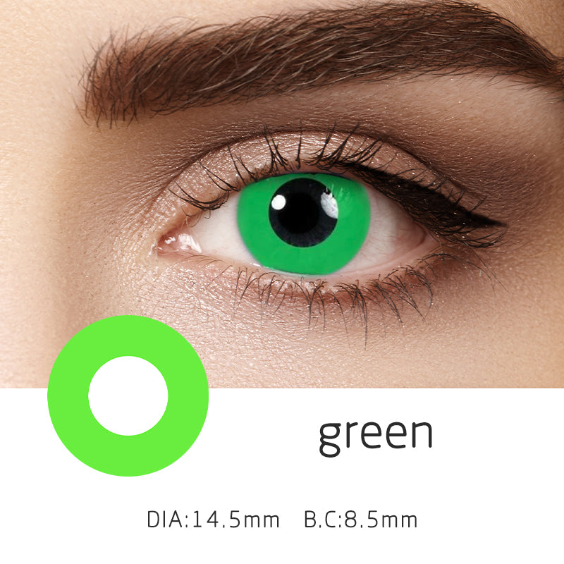 Mrs. H Colored Contact Lenses Cosplay Double Ring 14.5mm 1 Pair
