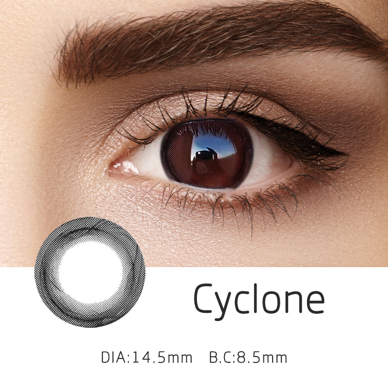 Mrs. H Colored Contact Lenses Cyclone 14.50mm 1 Pair