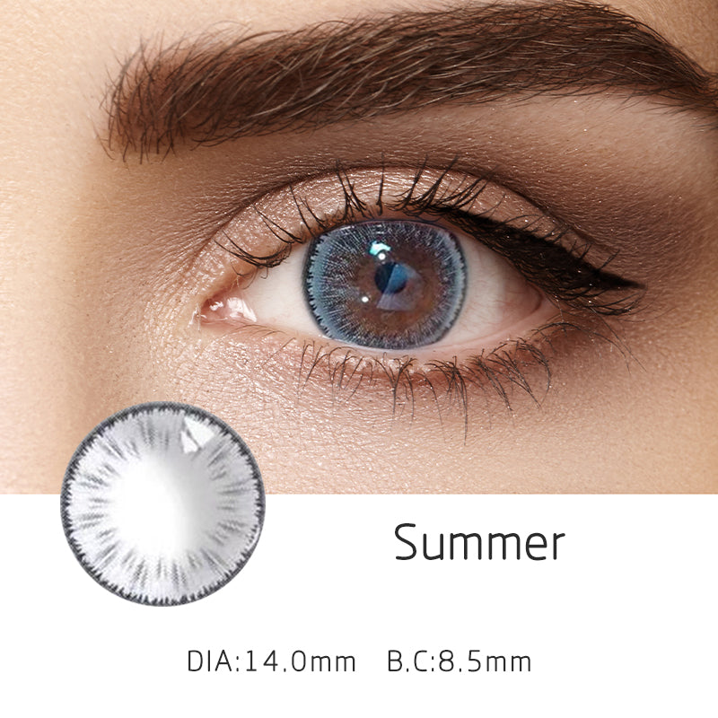 Mrs. H Colored Contact Lenses Summer 14mm 1 Pair