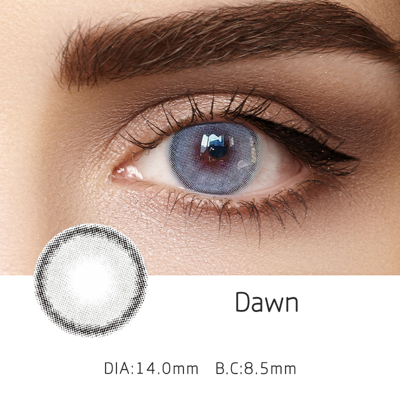 Mrs. H Colored Contact Lenses Dawn 14mm 1 Pair