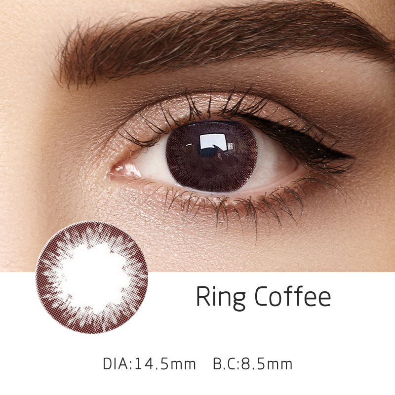 Mrs. H Colored Contact Lenses Ring 14.50mm 1 Pair