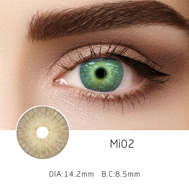 Mrs. H Colored Contact Lenses MI01-3 14.20mm 1 Pair