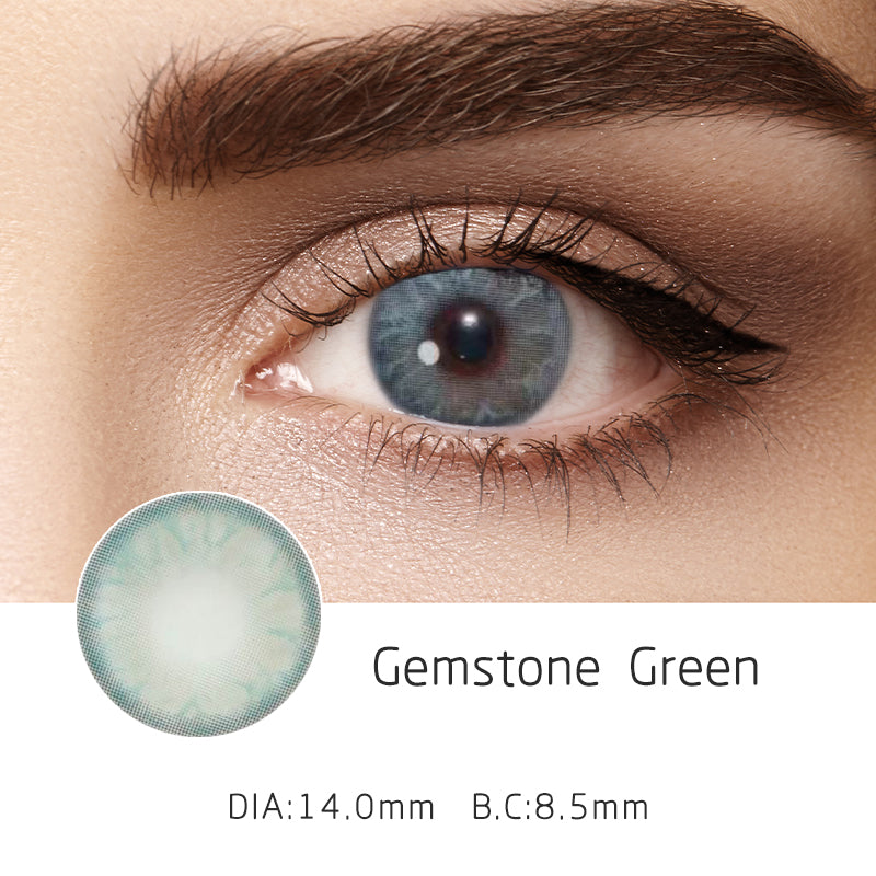 Mrs. H Colored Contact Lenses Gemstone 14mm 1 Pair