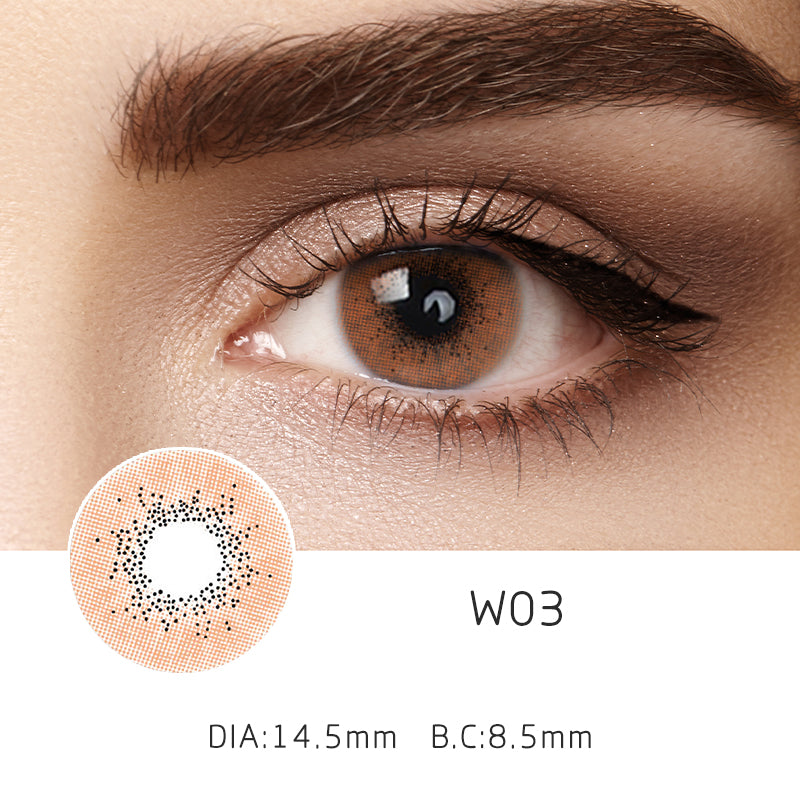 Mrs. H Colored Contact Lenses W03 14.20mm 1 Pair