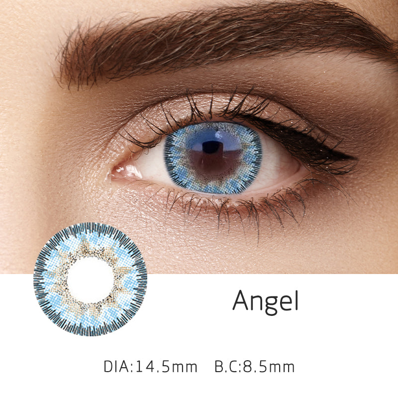 Mrs. H Colored Contact Lenses Angel 14.5mm 1 Pair